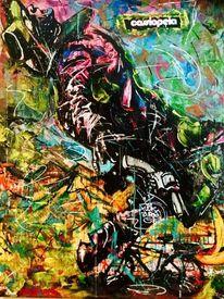 Surreal, Malerei, Mischtechnik, Abstrakt