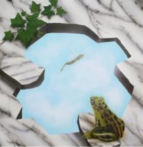 Objektdesign, Frosch, Marmor, Tierportrait