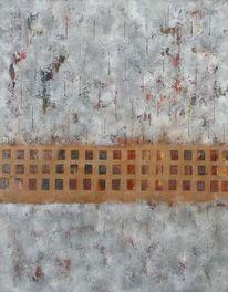 Schwarz weiß, Mosaik, Grau, Architektur