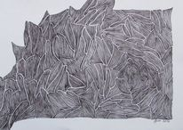 Fine line, Zeichnung, Modern, Linie