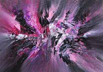Bunt, Malerei, Modern, Acrylmalerei