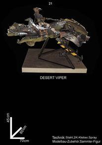 Science fiction, Fahrzeug, Skulptur, Kunsthandwerk