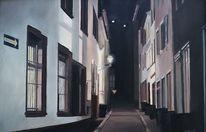 Nacht, Menschenleer, Straßenszene, Einsamkeit