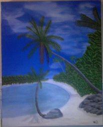 Strand, Palmen, Natur, Meer