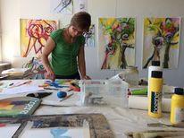 Gutshaus am see, Woserin, Workshops malerei, Schreiben