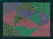 Farben, Formen, Abstrakt, Kunsthandwerk