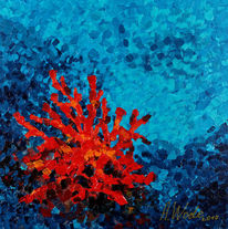 Blau, Wasser, Rot, Meer