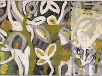 Vielschichtig, Gemälde, Harmonie, Acrylmalerei