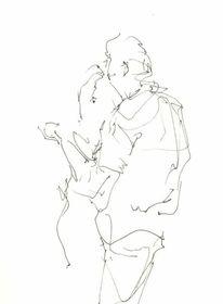 Tango, Sommer, Violine, Paar