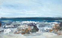 Studie, Wasser, Bretagne, Strand