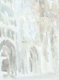 Ölmalerei, Rouen, Kathedrale, Bretagne