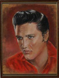 Elvis presley, Portrait, Zeichnungen, Elvis