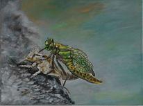 Libelle, Insekten, Malerei