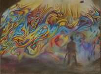 Seifenblasen, Fantasie, Illusion, Zeichnungen