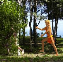 Griechische mythologie, Blender, La palma, Apollo