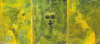Nofr, Radierung, Triptychon, Lithosketch