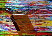 Bschoeni, Bibel, Graffiti, Abstrakt