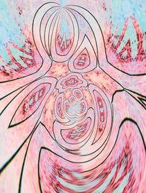 Abstrakt, Graffiti, Bschoeni, Digitale kunst