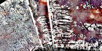 Abstrakt, Maserung, Bunt, Rot schwarz