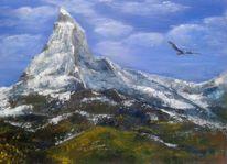 Adler, Ma tterhorn, Landschaft, Gipfel