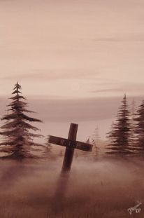 Ende, Tod, Nebel, Malerei
