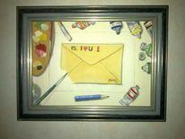 Brief, Malerei, Liebe