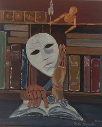 Surreal, Wissen, Angezogen, Malerei