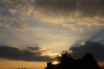 Himmel, Sonnenuntergang, Wolken, Licht
