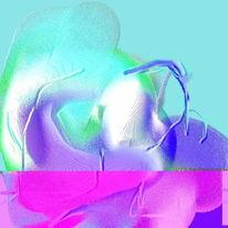 Fantasiewesen, Automatie, Abstrakt, Digitale kunst