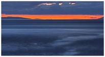 Bunt, Wolken blau, Zeichnung, Meer