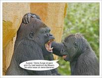 Diagnose, Gorilla, Masern, Menschenaffen