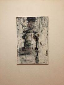 Malerei, Leinen, Pigmente, Abstrakt