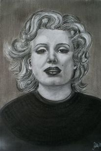 Frau, Blond, Marilyn, Monroe
