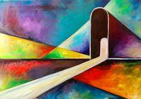 Moderne kunst, Kubismus, Abstrakt, Formen
