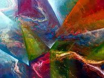 Formen, Abstrakt, Moderne kunst, Kubismus