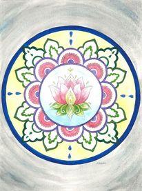 Lotosblüte, Spirituell, Yoga, Entspannung