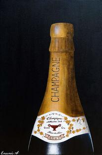 Weinflasche, Sekt, Schaumwein, Champagnerflasche