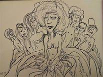 Liebe, Psyche, Menschen, Zeichnungen