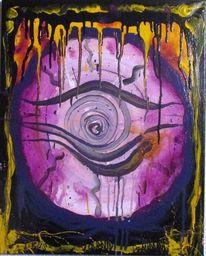 Fantasie, Malerei, Abstrakt, Mischtechnik