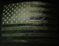 Malerei, Ölmalerei, Amerika, Folie