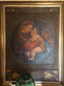 Portrait, Della, Raffaello, Seggiola
