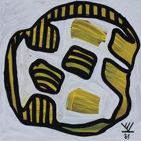 Gelb, Bienenkunst, Kryptokunst, Mathematiker