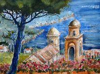 See, Amalfiküste, Küste, Sommer