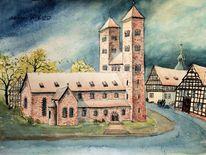 Weserbergland, Sakralkunst, Höxter, Fachwerk