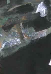 Landschaft, Malerei, Abstrakter expressionismus, Abstrakte malerei