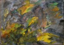 Wild, Informel, Abstrakt, Aquarellmalerei