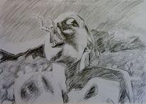 Frosch, Angelina jolie, Hals, Zeichnungen