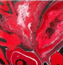 Weiß, Schwarz, Rot, Malerei