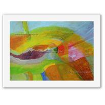 Druck, Abstrakt, Hahnemühle, Malerei