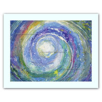 Druck, Andromeda, Fantasie, Malerei